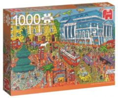 Jumbo Premium Collection Puzzel Piccadilly Circus London - Legpuzzel - 1000 stukjes