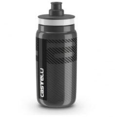 Castelli - Castelli Water Bottle - Fietsdrinkflessen maat One Size, zwart/grijs