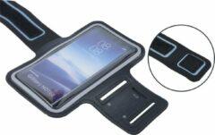 Sport armband XL tot 6.5 inch scherm - Geschikt voor iPhone 6 Plus/6s Plus/7 Plus /8 Plus/ X / XS / XS Max/Samsung s8 Plus / s9 Plus / s10 Plus / Huawei p30 - Zwart
