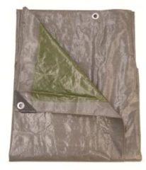 Talen Tools Afdekzeil 3 x 4 meter grijs/groen 140 gr/m2