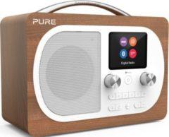 Pure Evoke H4 portables DAB / DAB + und FM Radio - Walnut