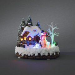 Kerst Wintertafereel - Konstsmide
