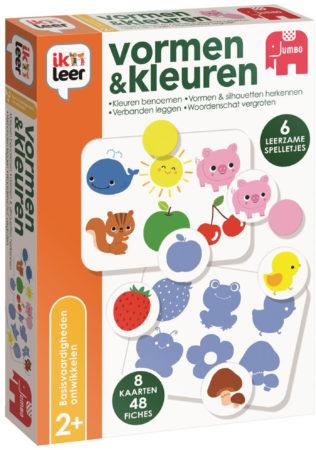 Afbeelding van JUMBO Spel Ik Leer Vormen & Kleuren (6089569)