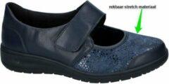 Solidus -Dames - blauw - comfortschoenen - maat 37½