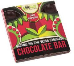Lifefood Raw chocolate tangy raspberry bio 35 Gram