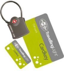 Grijze Sea to Summit TSA Travel Lock Cardkey Koffersloten - Cijferslot - Reisslot - 36g