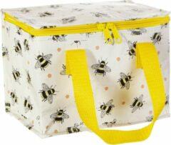 Gele Lunchtasje / koeltasje bijen van Sass & Belle
