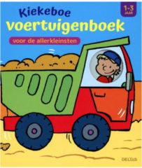 Deltas Boek Kiekeboe Voertuigenboek voor de Allerkleinsten 1-3 Jaar