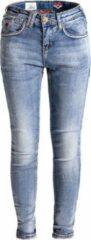 Blauwe Blue Barn Jeans - Matsudo - lichte skinny fit meisjes denim