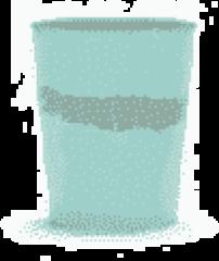 SERAX - Feast by Ottolenghi - Theekopje 0,33l Azure Swirl-Stripes