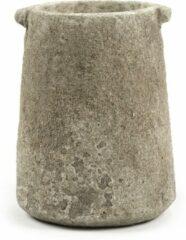 Serax Bloempot-Vaas Beige D 17.5 cm H 23 cm