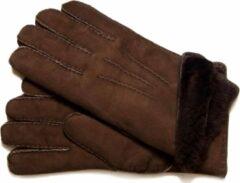 Bernardino Bruine Lammy handschoenen suede voor volwassenen 8 (L - 24 cm)