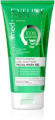Eveline Cosmetics Facemed+ Moisturising And Soothing Facial Wash Gel With Aloe Vera 3 in 1 - 150ml.