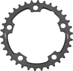 Antraciet-grijze BBB cycling BBB BCR-36S Kettingblad CompactGear 34T/110mm Antraciet