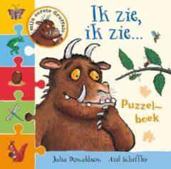 Lemniscaat Kinderboeken Gruffalo puzzelboek: Ik zie, ik zie (kartonboek). 1+