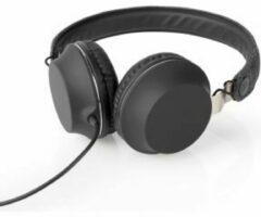 Eve Audio Nedis FSHP100AT Bedrade Koptelefoon Met Geweven Stof Bekleed On-ear Audiokabel 1,2 M Antraciet / Zwart