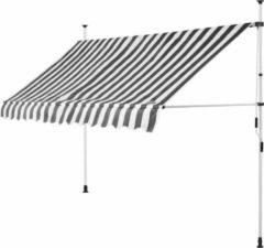 Detex klem luifel Wit/Grijs 350cm