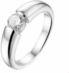 Trendjuwelier huiscollectie 1317405 Zilveren solitair ring