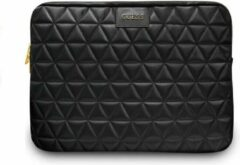 Guess Quilted Laptop Sleeve voor Laptops t/m 13 inch - Zwart