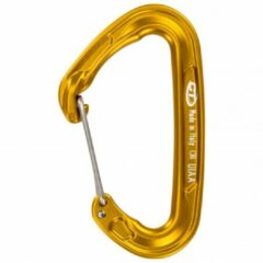 Climbing Technology - Fly-Weight Evo - Snapkarabiner maat Single, oranje/bruin
