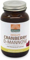 Mattisson Cranberry D-mannose met berendruif extract 90 Tabletten