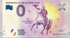 Paarse 0 Euro Biljet 2020 - Vorsten van Nederland - Koning Willem II
