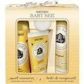 Burt's Bees Pflege Baby Sweet Memories Set Shampoo & Wash 235 ml + Nourishing Original Lotion 170 g + Diaper Ointment 55 g + Nourishing Body Oil 30 ml
