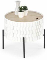 Home Style Bijzettafel Sintra 35 cm breed in wit