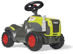 Groene Rolly Toys looptractor RollyMinitrac Claas Xerion junior grijs