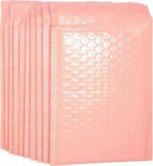 Merkloos / Sans marque 50 stuks luxe luchtkussen enveloppen 25x15 cm roze