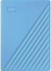 WD WDBYVG0020BBL-WESN My Passport Externe harde schijf (2.5 inch) 2 TB Blauw USB 3.0