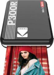 Zwarte Kodak Mini 3 Square retro printer black