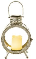 Solarlaterne Gesa miaVILLA Silber