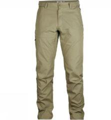 Fjällräven - Travellers Trousers - Trekkingbroeken maat 46 - Long - Fixed Length grijs/beige/olijfgroen