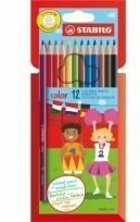 Kleurpotloden Stabilo Color 979 12stuks assorti