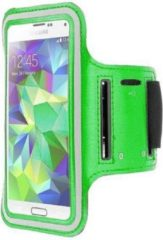 Samsung Galaxy S6 Edge Plus sports armband case Groen Green