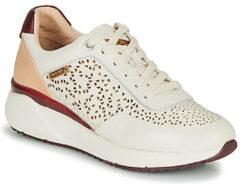 Witte Sneakers Sella W6Zw6Z-6869C1 by Pikolinos