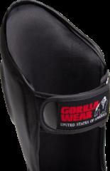 Gorilla Wear Mosby Scheenbeschermers - Zwart