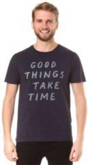 ARMEDANGELS JAMES GOOD THINGS T-Shirt Herren blau