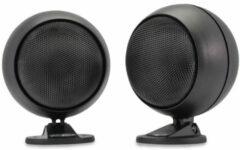 Universeel Twee sphere speakers met montage voet
