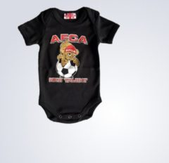 Baby romper Ajax New Talent (ZWART)
