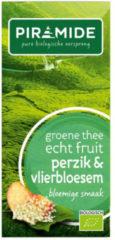 Piramide Groene Thee Perzik Vlierbloesem (20st)