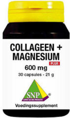 SNP Collageen magnesium 600 mg puur 30 Capsules