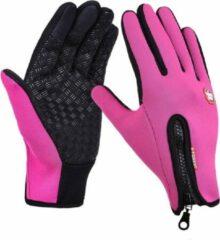Go Go Gadget Handschoenen | touchscreen | waterdicht | fleece | unisex | roze | maat XL