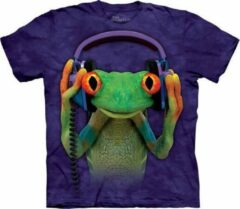 Paarse The Mountain KIDS T-shirt DJ Peace Unisex T-shirt Maat L