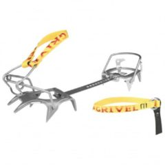 Gele Grivel - Ski Race Skimatic 2.0 with Crampon Safe S maat 35-46 geel/grijs