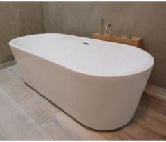 Vrijstaand Bad Luca Sanitair Primo 178x78x56cm Acryl Glans Wit CR