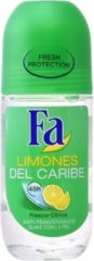 Deborah Milano Fa Lemons Of Caribbean Deodorant Roll-on 50ml