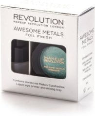 Groene Makeup Revolution Awesome Metals Eye Foils - Emerald Goddess