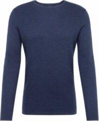 Blauwe Tom Tailor Trui Met Textuur 1016090xx12 13684